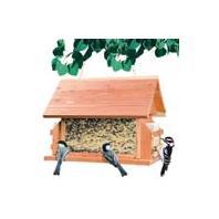 Woodstream Wild Bird - Lodge Wild Bird Feeder - Natural - 8 Lb