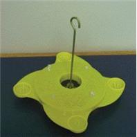 Audubon/Woodlink - Butterfly Feeder - Yellow - 8.75 X 8.25 X 2 Inch