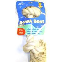 Booda - 2 Knot Rope Bone Dog Toy - White - XX Large