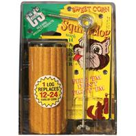 C AND S Products - Sweet Corn Squirrelog Hanger - 16 oz
