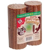 C AND S Products - Nut N Sweetcorn Squirrelog - 32 oz