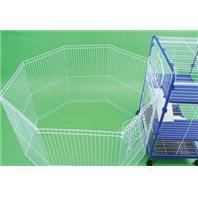 Ware Mfg - Clean Living Playpen - White - 43x43x29 Inch