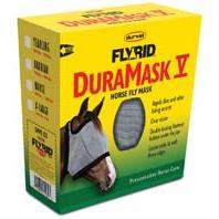 Durvet-Equine - Duramask Fly Mask - Grey