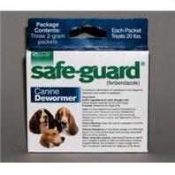 Durvet-Intervet - Safeguard Dog Wormer - Blue - 2 gm