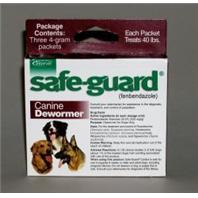 Durvet-Intervet - Safeguard Dog Wormer - Maroon - 4 gm