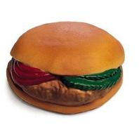 Ethical Dog - Vinyl Hamburger With Tomato And Pickle - 4 Inch