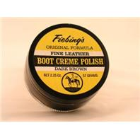 Fiebing Company - Boot Creme Polish - Dark Brown - 2.25 oz