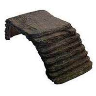 Zilla - Basking Platform Ramp For Reptiles - Black Small