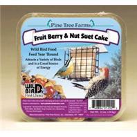 Pine Tree Farms - Fruit Berry and Nut Suet Cake - 12 oz