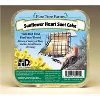 Pine Tree Farms - Sunflower Hearts Suet Cake - 12 oz