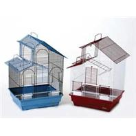 Prevue Pet Products - Parakeet House Style Cage - Assorted - 16 x 14 x 24 Inch/2 Pack