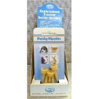 Pet AG - Elongated Nipples - 5 Pack - 2 oz
