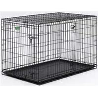 Midwest Container - Icrate Double Door Pet Home - Black - 42 Inch