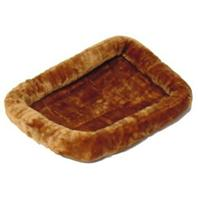 Midwest Container - Quiet Time Cinnamon Pet Bed - 36 x 23 Inch