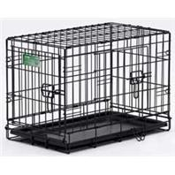 Midwest Container - Icrate Double Door Pet Home - Black - 30 Inch