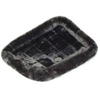 Midwest Container - Quiet Time Pet Bed - Grey - 36 x 23 Inch