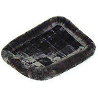 Midwest Container - Quiet Time Pet Bed - Grey - 22 x 13 Inch