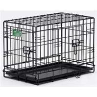 Midwest Container - Icrate Double Door Pet Home - Black - 24 Inch