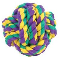 Multipet International - Nuts For Knots Ball - Medium - 4 Inch