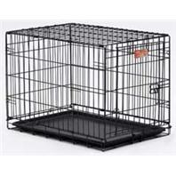 Midwest Container - Icrate Single Door Pet Home - Black - 24 Inch