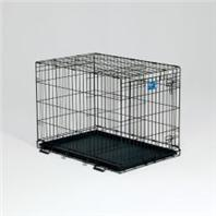Midwest Container - LifeStages Crate with Divider Panel - 36 x 24 x 27 Inch