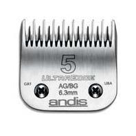 Andis - Ultraedge Skip Tooth Detachable Blade - SILVER #5-AG, BG