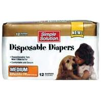 Bramton - Pupsters Disposable Diapers - Medium - 12 Pack