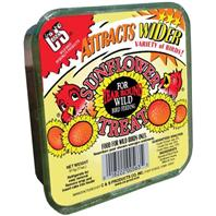 C AND S Products - Sunflower Suet Treat - 11 oz