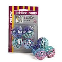 Ethical Cat - Lattice Balls - 4 Pack