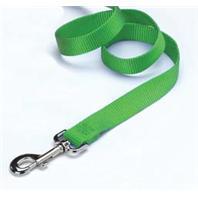 Hamilton Pet - Single Thick Nylon Lead with Swivel Snap - Lime - 5/8 Inch x 4 Feet