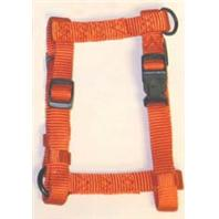 Hamilton Pet - Adjustable Comfort Nylon Harness - Mango - 1 x 30-40 Inch