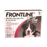 F.C.E - Frontline Plus Dog - 89-132 Lb