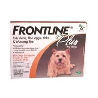 F.C.E - Frontline Plus Dog - 0-22 Lb