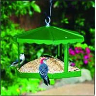 Homestead/Gardner - Fly - Thru Gazebo Bird Feeder - Green