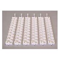 Miller Mfg - Egg Rails - White - Small - 6 Count