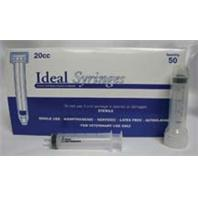 Ideal Instruments - Disposable Luer Lock Syringe Hp - 50 per Box - 12 ml