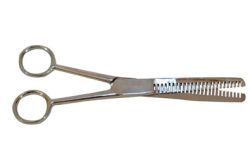 Partrade - Mane Thinning Scissors - Silver - 7.5 Inch