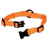 Hamilton Pet - Adjustable Saferite Collar - Orange - 1 x 18-26 Inch