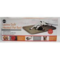 K&H Pet Products - Lectro-Soft Heated Bed - Taupe - Large