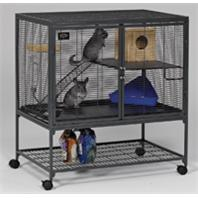Midwest Container - Critter Nation Single Unit - Gray - 36 x 24 x 39 Inch