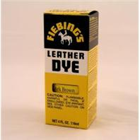Fiebing Company - Leather Dye - Dark Brown - 4 oz