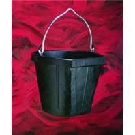 Fortex Industries - B600-18 Flatside Bucket  - Black - 18 Quart