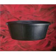 Fortex Industries - Rubber Tub - Black - 15 Gallon