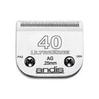 Andis - Ultraedge Detachable Blade - SILVER #40-AG