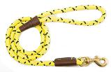 Mendota Pet - Snap Leash - Hi-Viz Yellow - 1/2 Inch x 4 Feet