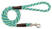 Mendota Pet - Snap Leash - Seafoam - 1/2 Inch x 4 Feet