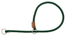 Mendota Pet - Show Slip Collar - Green - 16 Inch