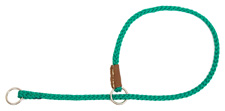 Mendota Pet - Show Slip Collar - Kelly Green - 16 Inch