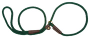 Mendota Pet - Slip Lead - Hunter Green - 3/8 Inch x 4 Feet - Small