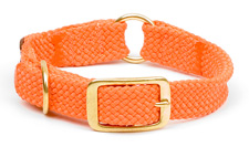 "Mendota Pet- Center Ring Collar - Orange - 1""w up to 21 Inch"